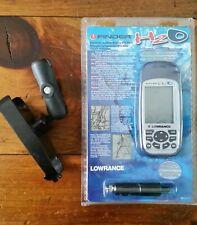 Lowrance H2O iFinder handheld Gps unit marine Ice Fishing Cord 12v Bundle New