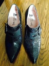 Women's Bellini Buckle Ankle Snake Print Dress Shoes size 8