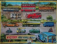 Vintage Victory Road Vehicle Wooden Jigsaw Puzzle
