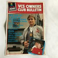 Atari VCS Owners Club Bulletin Magazine Leaflet AB 27 Winter 1983 2600
