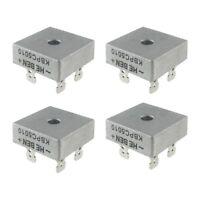 4X 50A 1000V Metal Case Single Phases Diode Bridge Rectifier KBPC5010 U7N3