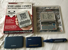 Various Electronic Crossword Games/ Solvers