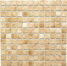 Mosaik Laceo Beige Fliesenspiegel Küche Wandverkleidung Art:18D-1412 | 10 Matten