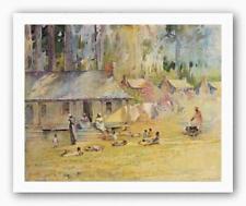 Plantation Settlement Alice Huger Smith African American Art Print 20x16
