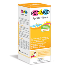 Pediakid Appétit-Tonus (Fenugreek& Turmeric that help stimulate appetite )125 ml