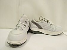 MBT Sport Size 8 M White Leather Lace Up Sport Walking Sneakers Shoes For Women
