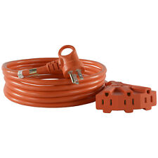Conntek 24342-144 i-Plug Nema 5-15 3 Prong Multi-Outlet Extension Cord, 12ft.