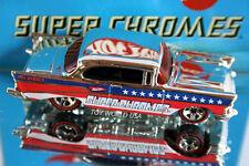 2007 Hot Wheels Super Chromes '57 Chevy Bel Air 40th Anniversary
