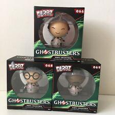 Dorbz Ghostbusters Figures x3 - Venkman, Zeddemore, Spengler