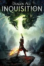 Dragon Age Inquisition Video Game Poster Print Action Role Playing New 24x36