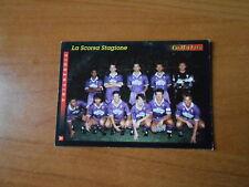 CARD SCORE GOLD 1993-FIORENTINA-SQUADRA