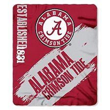 "Alabama Crimson Tide ""Painted"" 50"" x 60"" Fleece Throw Blanket"