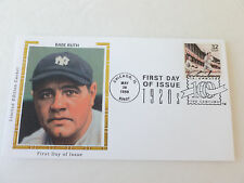1998 Babe Ruth Fdc Sc#3184a Colorano Silk Limited Edition Cachet Cover
