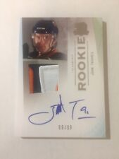 2009-10 UD Upper Deck The Cup John Tavares RC Rookie Logo Patch Auto 69/99 Leafs