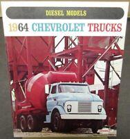 1964 Chevrolet Diesel Conventional Low Tilt Cab & Tandem Trucks Sale Brochure R1