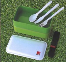 Bergner Lunch Box With Cutlery 1.2 Litre. 2 Comparments BPA free, Microwave Safe