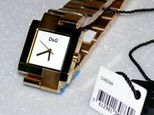 D&G DW0398 Promenade Lux Damen Armbanduhr Dolce & Gabbana Uhr in Gold D&G Box