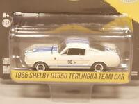 Greenlight 1:64 1965 Shelby GT350 Terlingua Team Car Diecast model