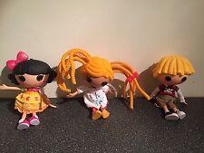 3 grande divertimento Lalaloopsy bambole circa 12 pollici