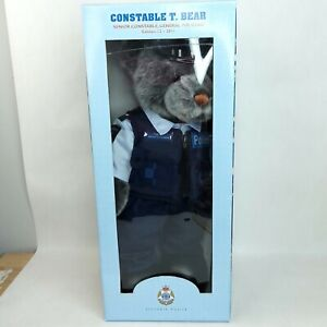Constable T Bear plush soft toy Police 2011