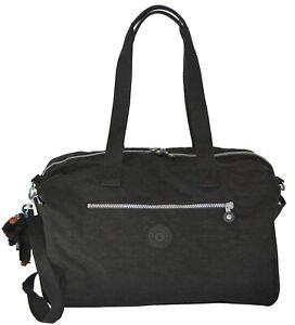 NWT Kipling Zaliki Duffle Weekender TM5434 Shoulder Bag Handbag Black $114