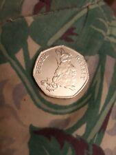 50p Coin Peter Rabbit 2018