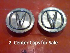 1999-2004 2 Acura CL TL RL  Center Caps Cap Hub Hubcap metal gold logo E1  2.75""