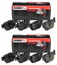 HAWK 2002-2006 ACURA BASE HP STREET 5.0 BRAKE PADS FRONT AND REAR