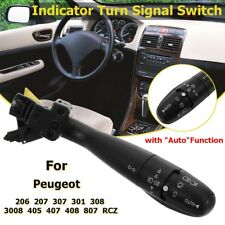 Indicator Turn Signal Switch Auto For Peugeot 307 301 308 206 207 405 407 408