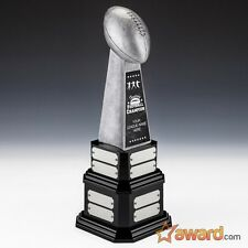 """Fantasy Football Trophy Perpetual -16 Years-15.5""""- Free Engraving- Ships 1 Day"""