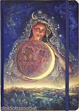 "5""x7"" Josephine Wall Journal Lined Selene Goddess Moon Diary Notebook Celestial"