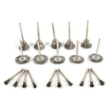 20X Stainless Steel Wire Brush Wheel/Cup Shape For Rotary Polishing Grindng Tool