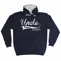 Uncle Since Any Year HOODIE hoody birthday family brother custom funny gift