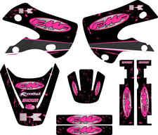Kawaskai Kx65 kx 65 Pink Graphic Kit 01-12 FMF Exhaust Graphics Decal Sticker