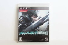 Metal Gear Rising Revengeance Manual Wear PS3 PS 3 Japan Import US Seller