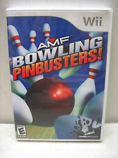 NINTENDO WII AMF BOWLING PINBUSTERS COMPLETE TESTED