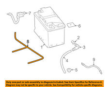 MERCEDES OEM 2012 E350-Battery Cable 2044400508