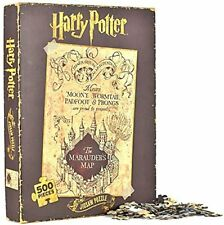 OFFICIAL HARRY POTTER MARAUDERS MAP 500 PIECE JIGSAW PUZZLE NEW IN GIFT BOX