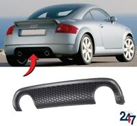 NEW AUDI TT MK1 1998 - 2006 REAR BUMPER LOWER HONEYCOMB DIFFUSER