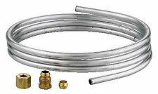 Ranco 1/4 Inch x 60 Inch  Dead Soft Aluminum Pilot Gas Tubing & 3 fittings