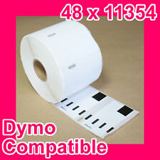 48 Rolls of Quality Compatible 11354 Label for DYMO LabelWriter