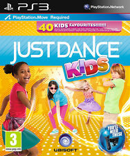 Just Dance Kids PS3 Move Game *in Excellent Condition*