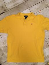 Ralph Lauren Flag Logo Vintage 1990s Mens Polo Shirt Adult Medium * Great Cond.
