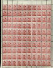 Serbia 1911 SG#156, 3d Lake, Petar I, MNH Full Sheet Cat £4500 #V15964