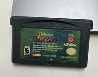 Disney's Tarzan: Return to the Jungle Nintendo Game Boy Advance *Clean & Tested*