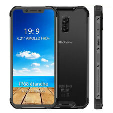 Blackview BV9600 Pro 6GB+128GB Smartphone Téléphone Waterproof 19:9 FHD AMOLED