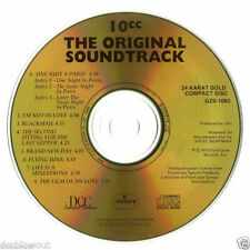 New Unplayed Audiophile DCC GOLD CD 10CC Original Soundtrack - 100% to Charity