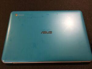 "Asus Chromebook C300M 13.3"" Celeron N2840 2GB Ram 16GB SSD Chrome OS Blue"