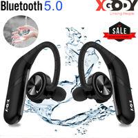 Waterproof True Wireless Bluetooth 5.0 Headphones Sport Earphones Stereo Earbuds