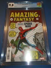 Amazing Fantasy #15 Facsimile Reprint 1st Spider-man CGC 9.8 NM/M Gorgeous Gem